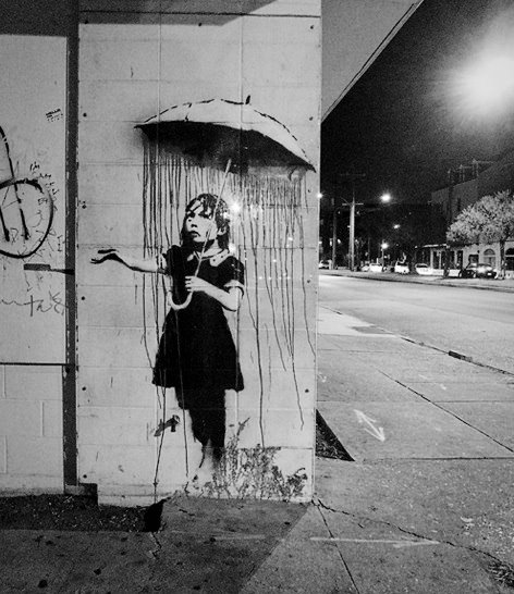 BansKy. New Orleans