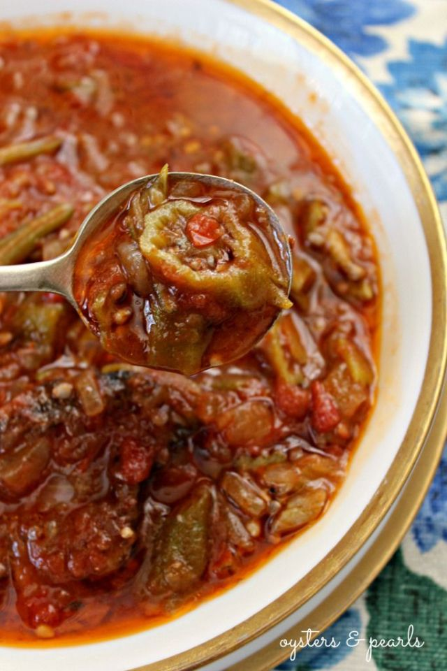 Charleston Okra Soup