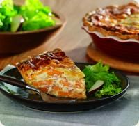 Image result for Bacon, Sweet Potato and Maple Quiche