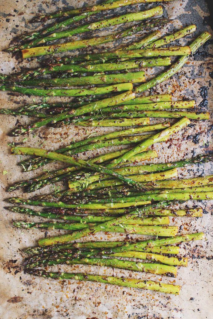 Chili + Lime Roasted Asparagus   With Food + Love   #vegan #glutenfree #paleo