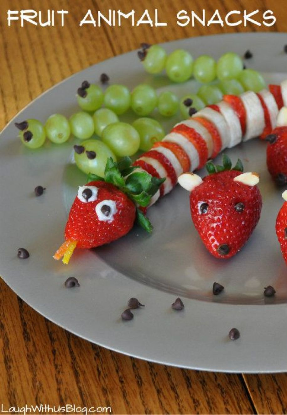 Fruit Snakes by Ride With Us Blog