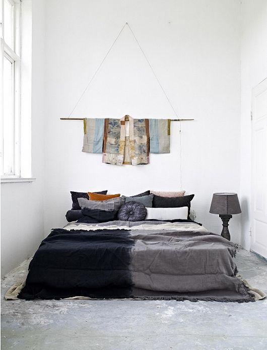 grey-bed-linens via http://www.sfgirlbybay.com/#