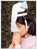 Do you have a cold? Are you sick (forgive the pun) of carrying Kleenexes everywhere? Then this stylish hat is the end to your problems! When you feel a sneeze coming, just pull on the roll!