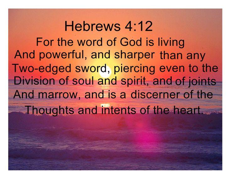 Hebrews 4:12