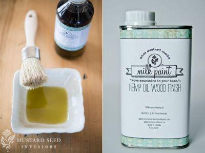 Hemp Oil | Miss Mustard Seeds Milk Paint