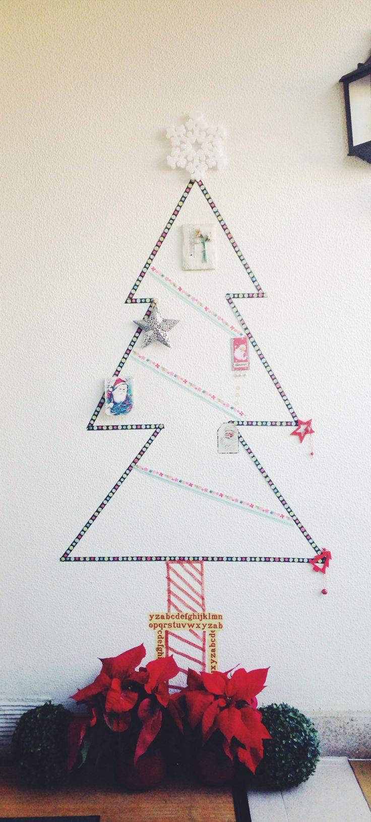 Árbol de Navidad #DIY