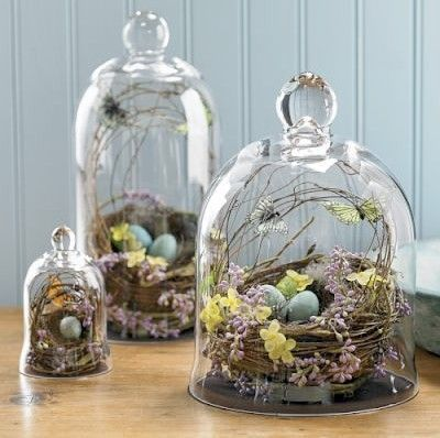 Bird Nest Centerpieces on earlyivy.com