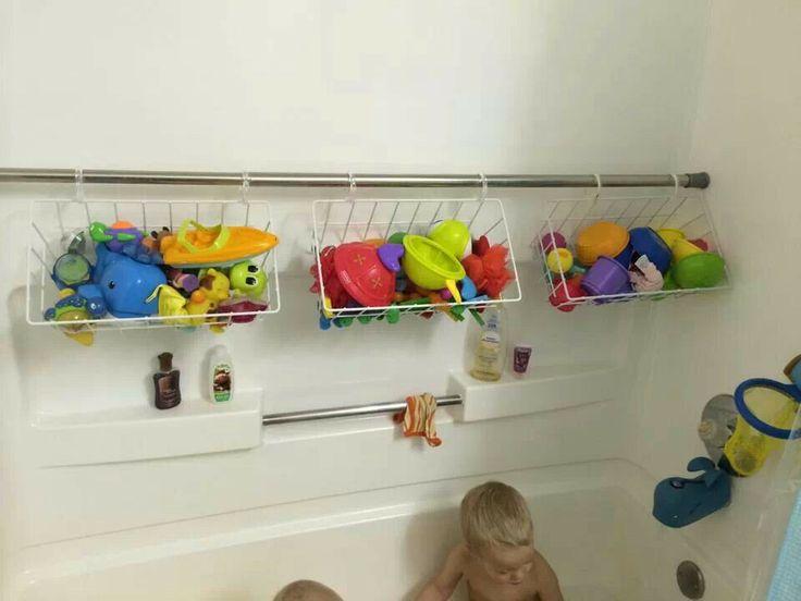 26 Elegant Bathroom Toy Storage