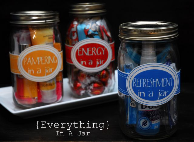 Everything in a Jar gifts