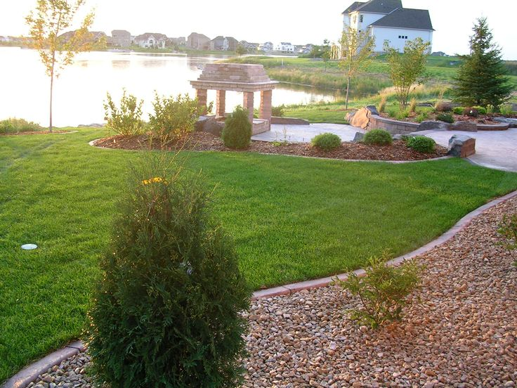 Pin by Villebois Mareuil on Garden Patio Lakeside | Pinterest on Lakefront Patio Ideas id=93477