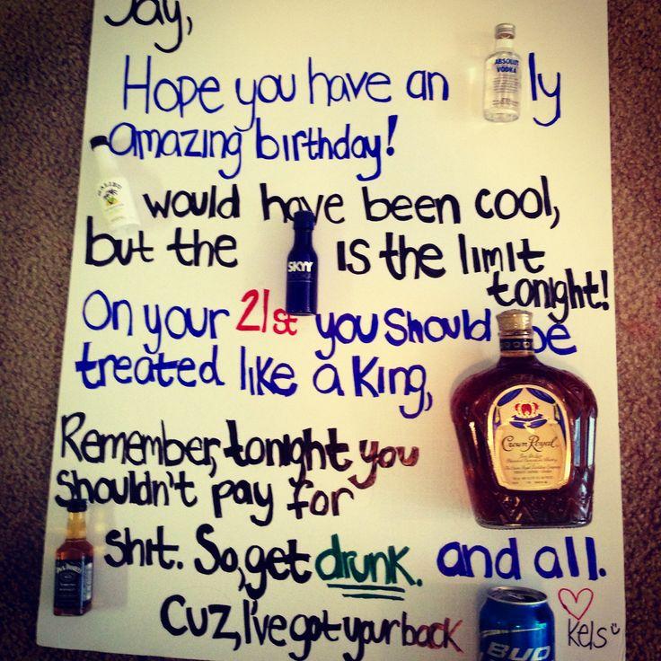 Gift Ideas For Boyfriend Gift Ideas For My Boyfriends 21st Birthday