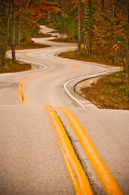 Everyday is a winding road!