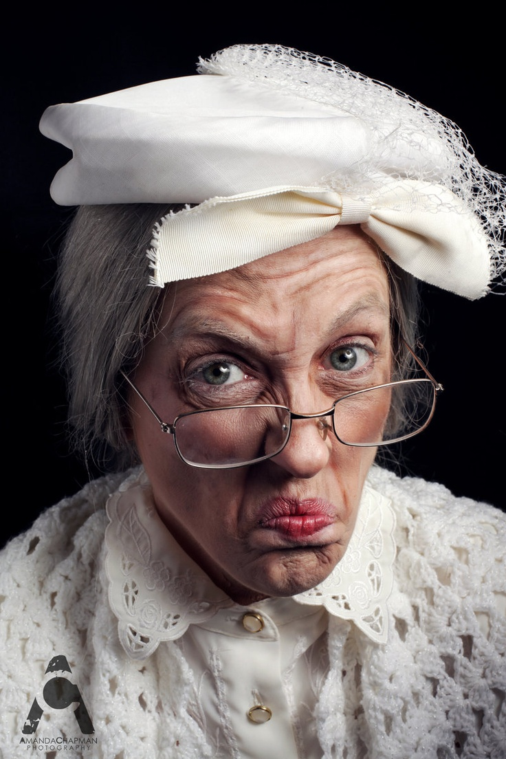 Old Lady by ~Prettyscary