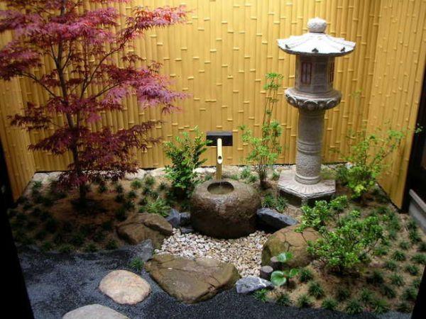 japanese tea garden small spaces small space Japanese garden   jardim e quintal   Pinterest