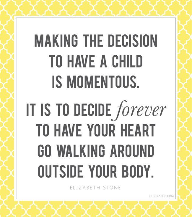 Great motherhood quote by Elizabeth Stone