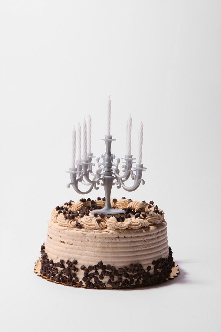 Make any cake classy with this candelabra. Keepin it Classy.