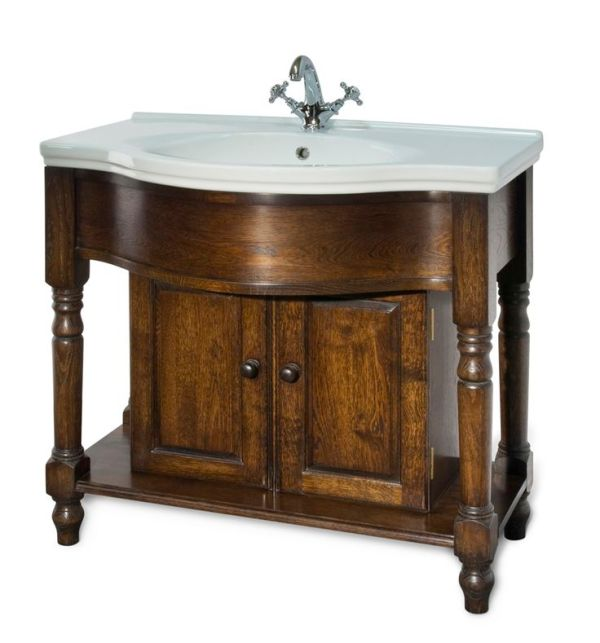 A Victorian style bathroom vanity unit Butterfly house