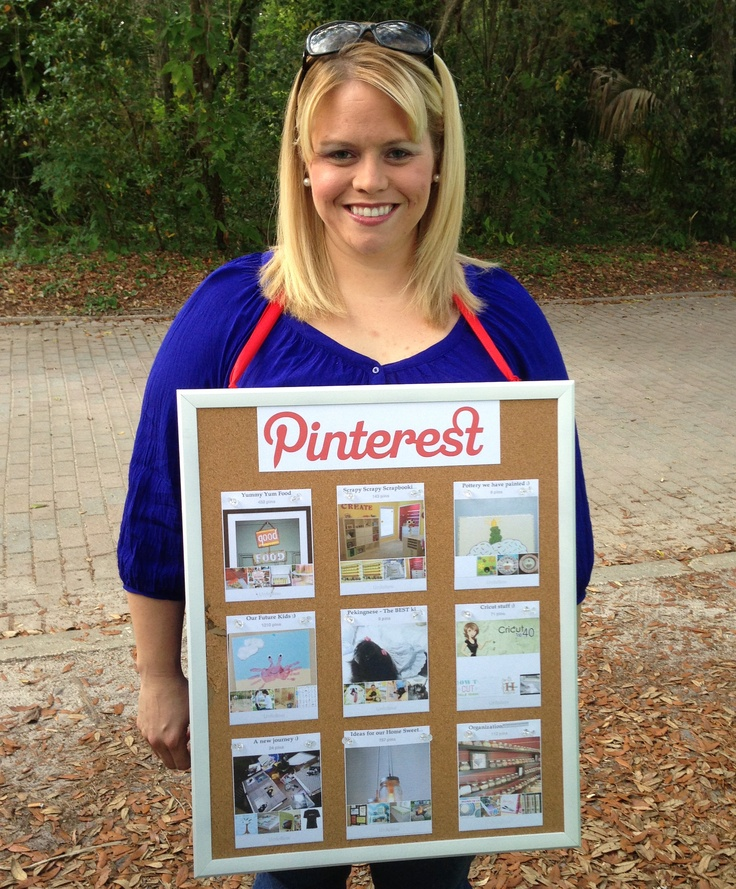 Quick and Easy DIY Pinterest   Halloween Costume