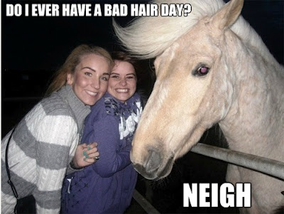 Bad hair day?