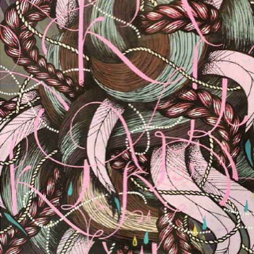 INTIMITÉ GÉOMÉTRIQUE n•1 by SupaKitch & Koralie III Galerie LJ#Paris  http://cargocollective.com/koralie/TANDEM