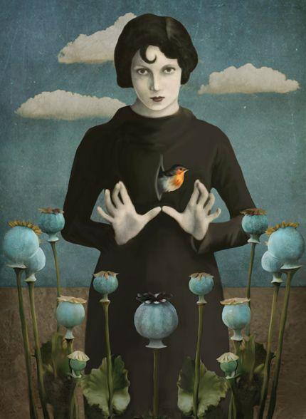 Daria Petrilli - Poppies lady