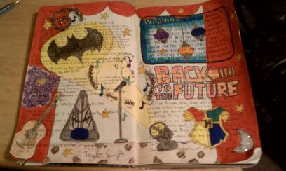 One of my favorite pages from my Wreck This Journal