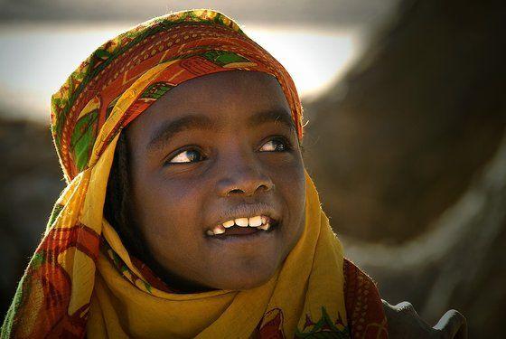 Un sorriso africano dal Ciad #!  # Buongiorno # felicità