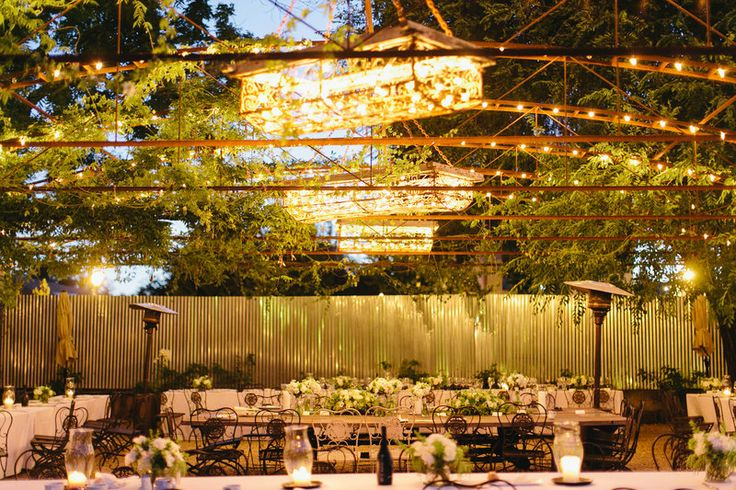 Rustic Outdoor Dining Room Wine Country Wedding Pinterest