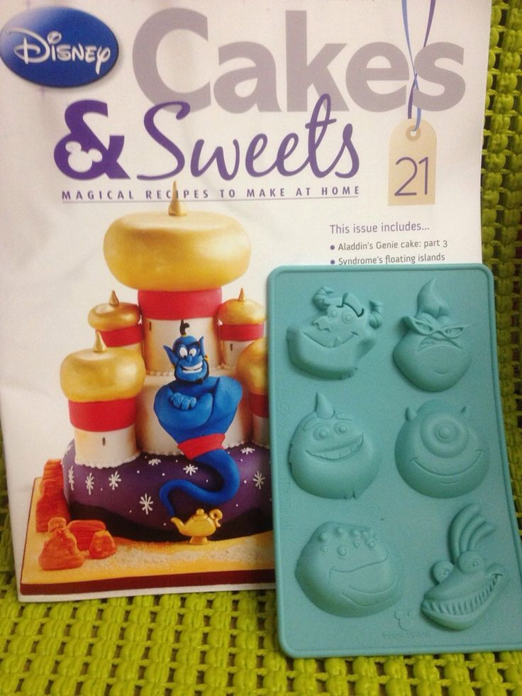 Disney Cakes and Sweets Issue 21 Lunchbox / Bento Guide