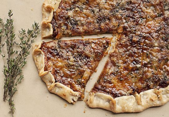 Caramelized Onion & Gruyere Tart