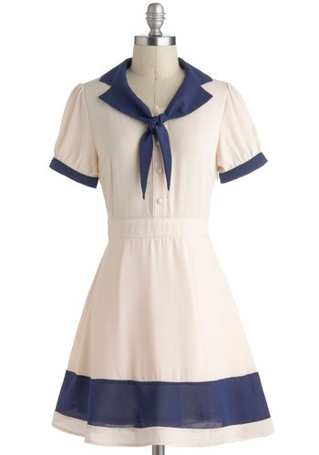 Modcloth sailor dress