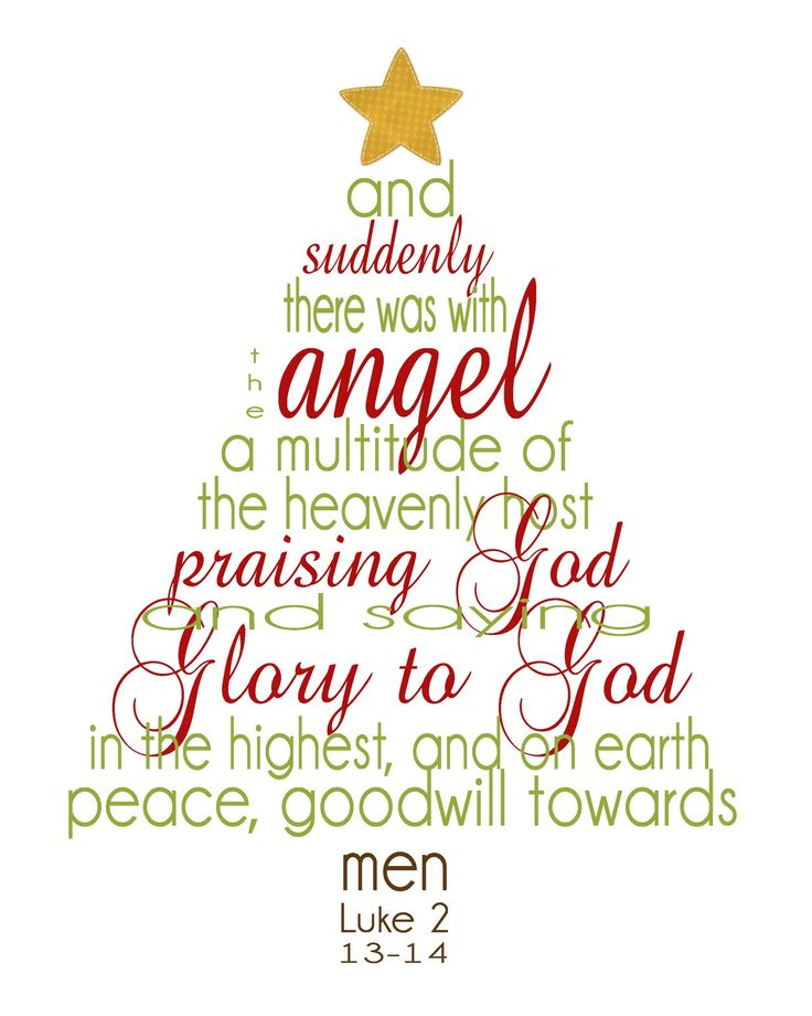 Auntie Lolo Crafts: Christmas Scripture Tree Printable