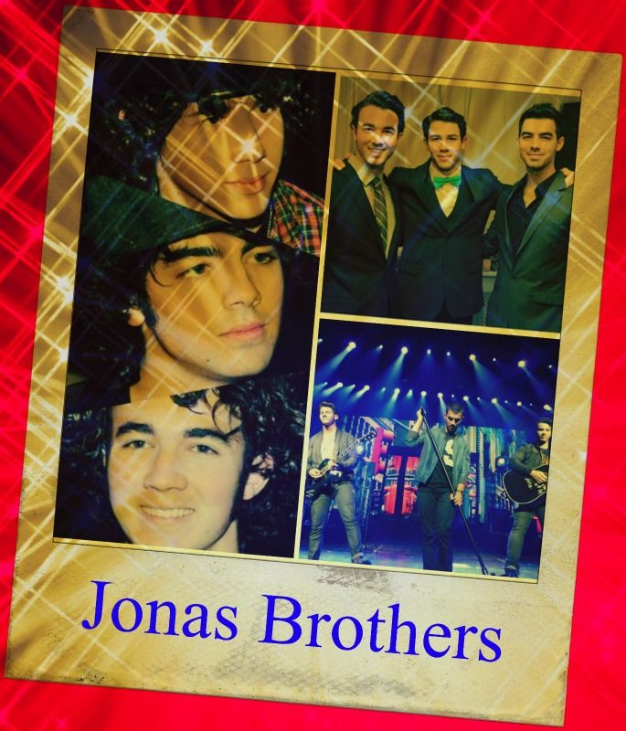 I made this graphic of the Jonas Brothers.