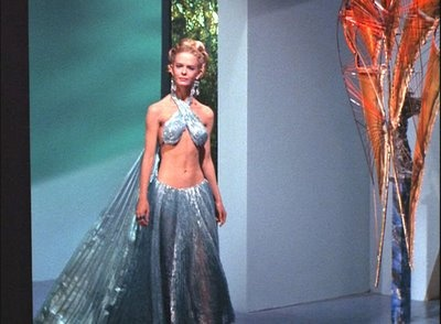 "Hot Aliens of Star Trek -Droxine from  ""The Cloud Minders"" 1969"