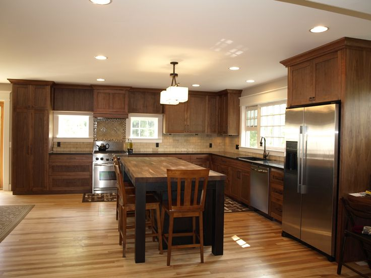 dark cabinet light wood floor kitchen ideas pinterest on kitchen cabinets light wood id=26566