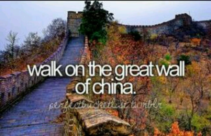 walk on the great wall of china bucket list pinterest on the great wall of china id=72001