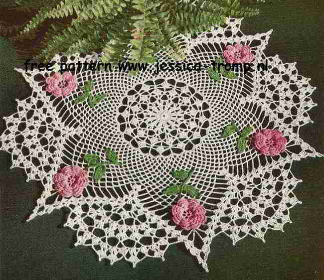 The Rose Doily