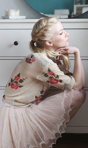 Lovely tulle skirt ...