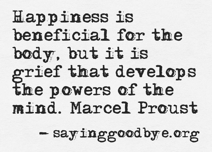 Proust Happiness and Grief