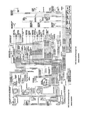 57 Chevy wiring diagram | Growth and Evolution | Pinterest