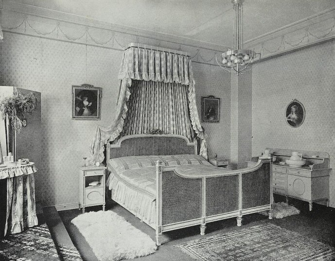 Louis XVI sytle bedroom, 1904