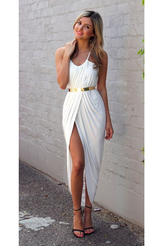 Greek Goddess Wedding Fashion on earlyivy.com