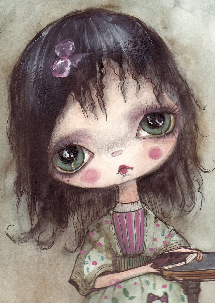 Sisilia by ppinkydollsart on Etsy