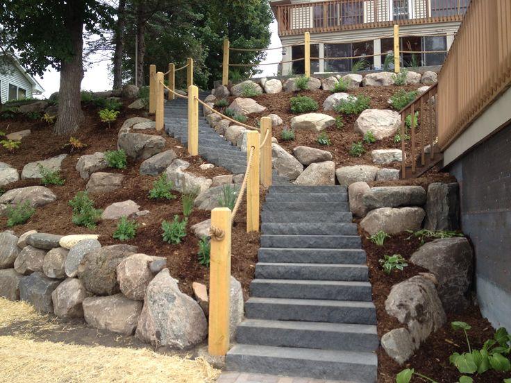 Landscape Ideas For Steep Backyard Hill | Mystical Designs ... on Steep Hill Backyard Ideas id=58092