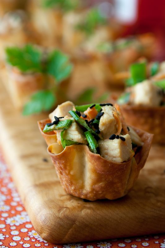 girls fashion clothes Sesame chicken wonton cups Recipe