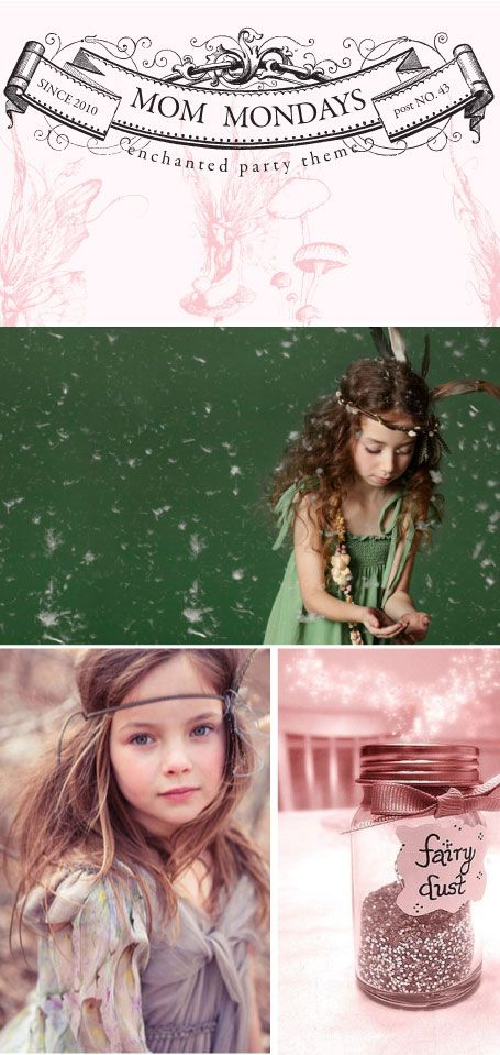 enchanted themed party for little girls