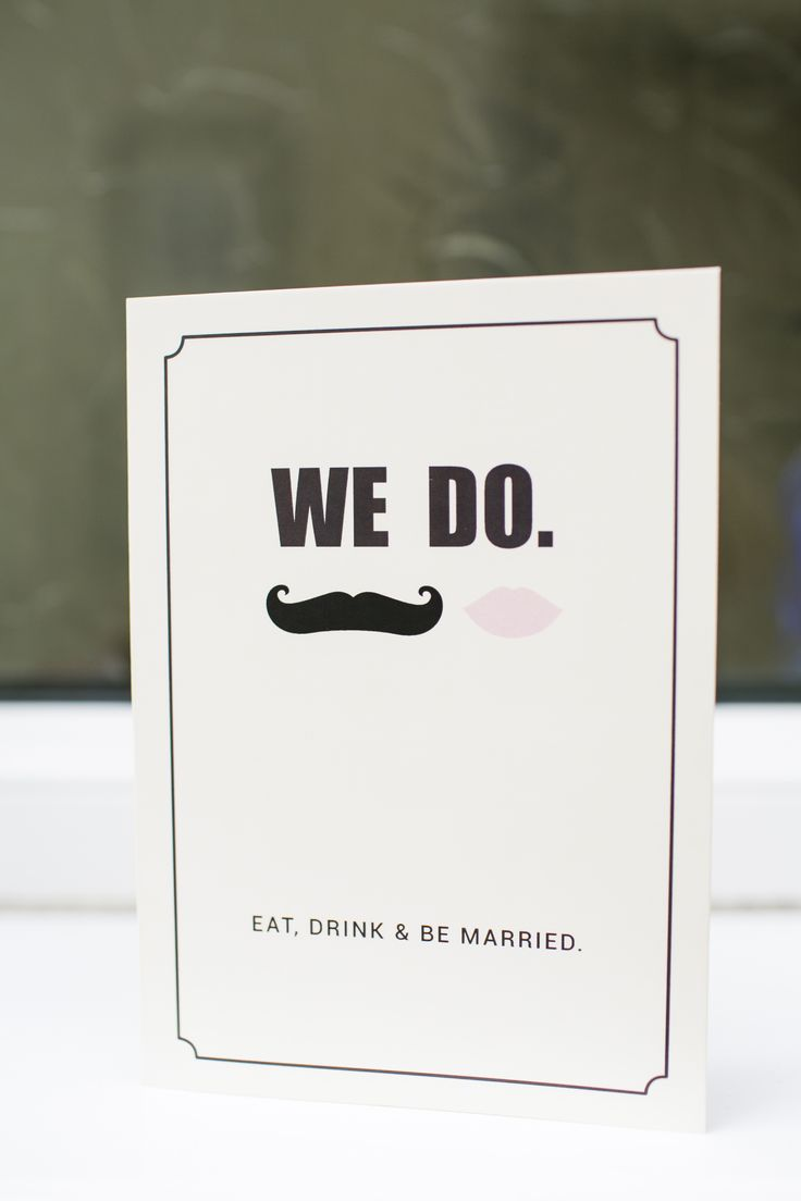 Wedding invitations! Love it - but with the red  lips instead of white!