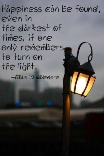Albums dumbledore quote