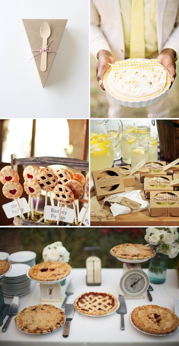 Let them eat…pie! | Brooklyn Bride - Modern Wedding Blog