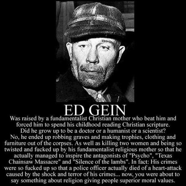 Edward Gein Quotes. QuotesGram